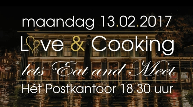 13 februari 2017: Love & cooking